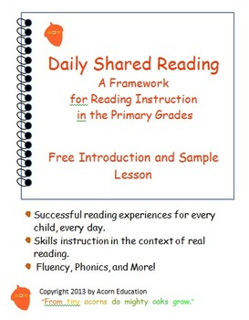 Daily Shared Reading and Phonics