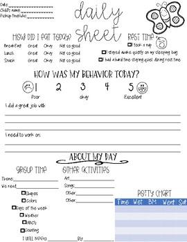 Daily Sheet