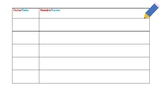 Editable Daily Sign in Sheet  Dual Language Spanish and English