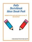 Daily Sketchbook Ideas Sneak Peek