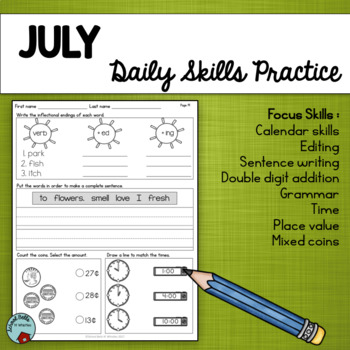 Daily Skills Practice / Morning Work