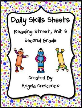 Daily Skills Sheets Unit 3 Reading Street Grade 2, 2011 &