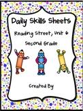 Daily Skills Sheets Unit 6 Reading Street Grade 2, 2011 & 2013 Series