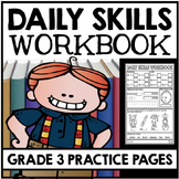 Daily Skills Practice - Grade 3 Practice Pages - Math, Reading, Writing