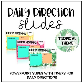 Daily Slides - Tropical