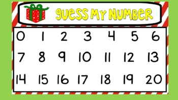 **REVISED for 2018** Daily SmartBoard Number Corner for December - Common Core