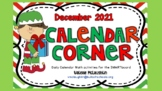 **REVISED for 2019** Daily SmartBoard Number Corner for December - Common Core