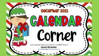 **REVISED** Daily SmartBoard Number Corner for December 20