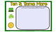 **REVISED** Daily SmartBoard Number Corner for March 2017