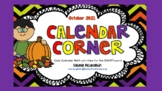 **REVISED for 2019** Daily SmartBoard Number Corner for October - Common Core