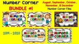 **REVISED for 2017** Daily Smartboard NUMBER CORNER BUNDLE 1