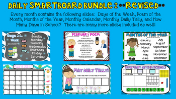 **REVISED** Smartboard Bundle 2 - Number Corner 2017