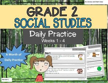 Daily Social Studies (Grade 2 Weeks 1 - 4)