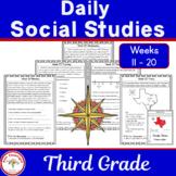 Daily Social Studies Grade 3 Weeks 11 - 20