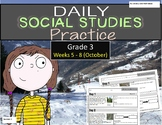Daily Social Studies (Grade 3 Weeks 5 - 8)