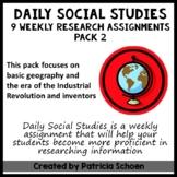 Daily Social Studies Pack 2