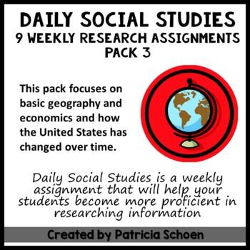 Daily Social Studies Pack 4