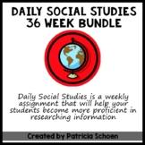 Daily Social Studies Bundle - Packs 1-4