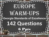 Daily Social Studies Warm-Ups Europe