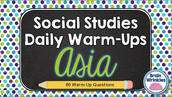Daily Social Studies Warm-Ups (or Study Guide) -- Southern