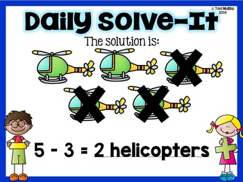 Daily Solve-It: Addition and Subtraction Word Problems within 10