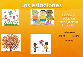 Daily Spanish Routine Interactive Powerpoint
