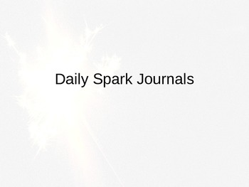 Daily Spark Journals
