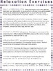 Stress Management Relaxation Worksheets and Handouts: GRAPES