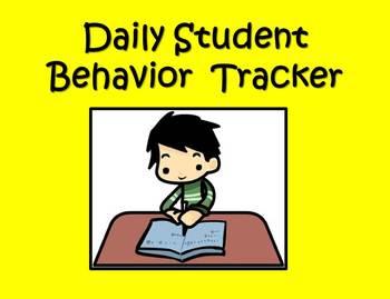 Daily Student Behavior Tracker - Parent Communication Log - Progress Tracker