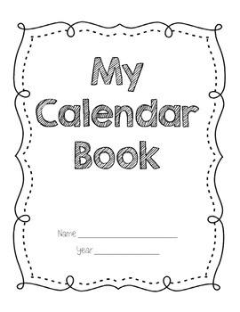 Daily Student Calendar Book