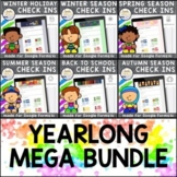 Daily Student Check In YEARLONG BUNDLE for Google Forms™ |