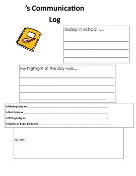 Daily Student Communication
