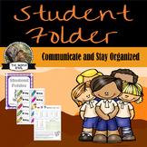 Daily Student Folder-Owl Themed