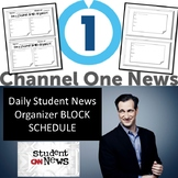 Daily Student News Organizer Block Schedule