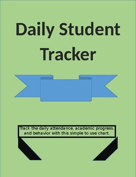 Daily Student Tracker Form