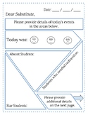 Daily Substitute Feedback Form
