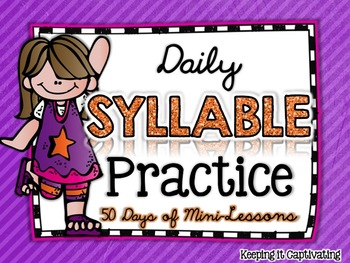Daily Syllable Practice