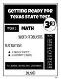 Daily TEKS Review 5 | Homework 3rd Grade - TEKS Refresh