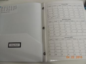 Daily Take Home Folder Kit