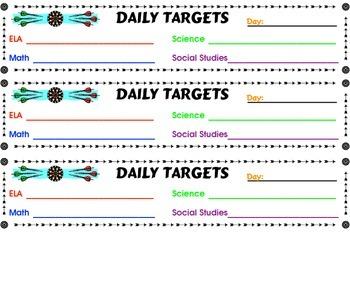 Daily Target Desktop and Display