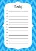 Daily Task Sheets