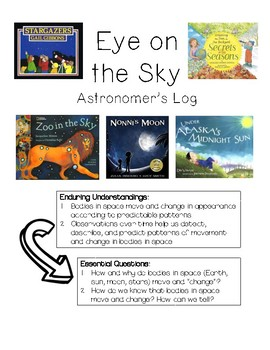 Daily Tasks- Earth Science- aligned for use with interactive read alouds