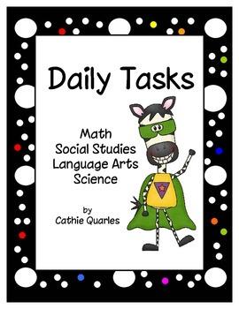 Daily Tasks Packet 1