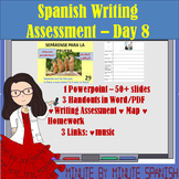 Spanish 1 Day 8 Writing Assessment Lesson Greetings