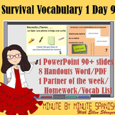 Spanish 1 Day 9  90% Target Language Lesson - DTG  Survival Expressions1