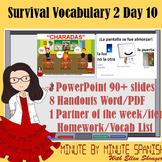 Spanish 1 Day 10  90% Target Language Lesson - DTG Surviva