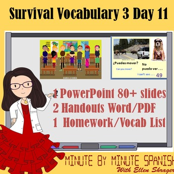 Spanish 1 Day 11 90% Target Language Lesson - DTG - Student-to-Student