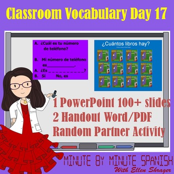 Spanish 1 Day 17 90% Target Language Lesson - Day DTG Numbers 14 - 20