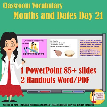 90% Target Language Lesson - Day 23 DTG Months and Dates