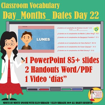 90% Target Language Lesson - Day 24 DTG Months, Dates and Days